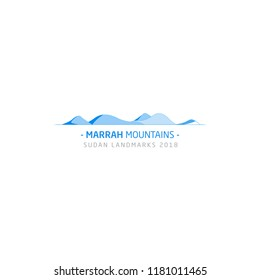 The Marrah Mountains or Marra Mountains (Jebel Marra), It is the highest mountain in Sudan, Sudan Landmarks 2018, Darfur, Sudan