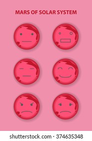 Mars emoticon icon