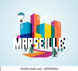 Marseille city is a beautiful destination to visit for tourism.