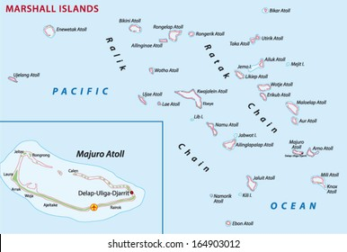 Map Of Marshall Islands Images, Stock Photos & Vectors | Shutterstock