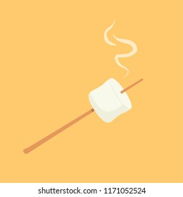 marshmallow cartoon vector. symbol. logo.