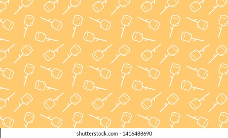 marshmallow symbol. marshmallow pattern vector. wallpaper. background.