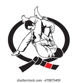 Martial Arts Logo Vector