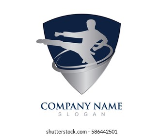 Martial arts shield design