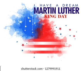 Martin Luther King Day  design EPS10 illustration - Vector