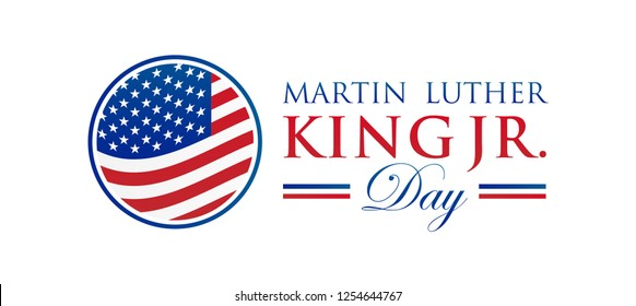 Martin Luther King Jr. Day Vector Illustration