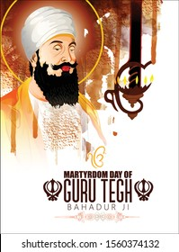 Martyrdom of Guru Tegh Bahadur,Guru Tegh Bahadur was the ninth of ten Gurus of the Sikh religion