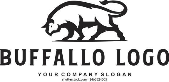 Mascot Buffallo Logo for your bussiness company