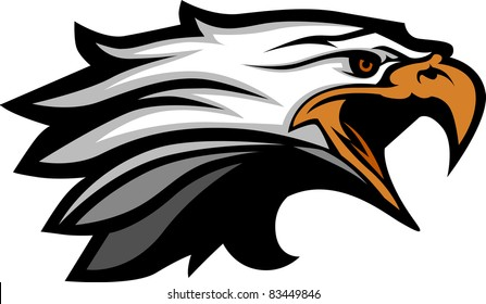 Mascot Head of an Eagle