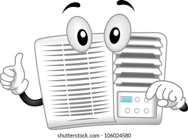 Air Conditioner Cartoon Images Stock Photos Vectors Shutterstock