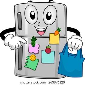 clipart illustration refrigerator images stock photos vectors rh shutterstock com refrigerator clipart png refrigerator clipart black and white
