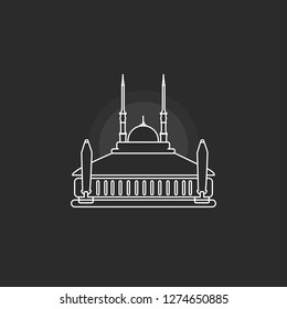 Masjid Agung Stock Vectors Images Vector Art Shutterstock