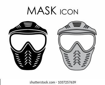 Mask icon colored