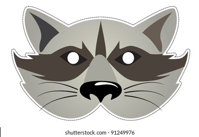 mask of the Raccoon, Be a Raccoon at a party
