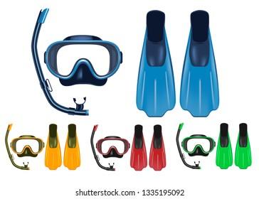 Diver Fin pin scuba diving equipment snorkel beach jacket adventure flipper Blac
