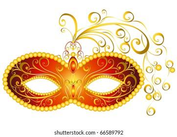 Masks for a masquerade. Vector