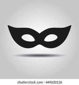 Masquerade mask vector icon