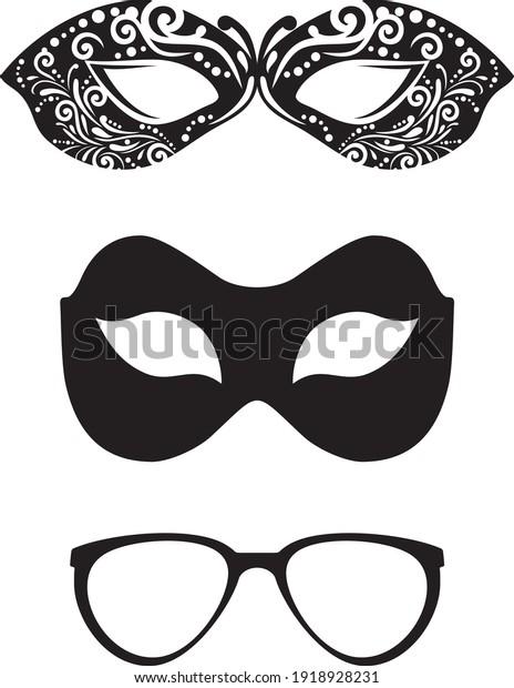 masquerade-masks-glasses-isolated-on-600