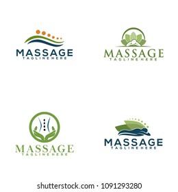 Massage Logo Design