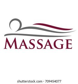 Massage Logo Vector