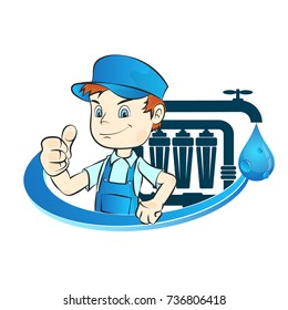 Master of installation of water filters