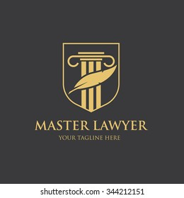 Master Law Firm Logo Template