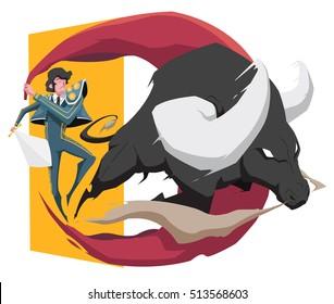 Matador vs bull
