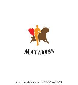 Matadors logo icon vector arts. - Shutterstock ID 1544564849