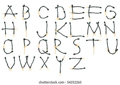 Match alphabet set