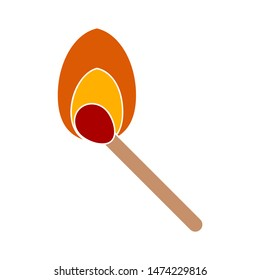 match icon. flat illustration of match vector icon. match sign symbol