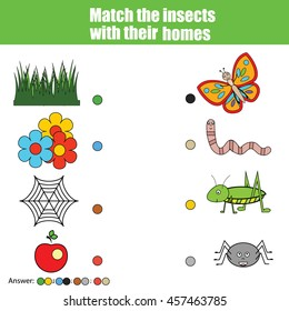 Insect and Spider Theme for Preschool Images, Stock Photos ...
