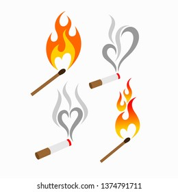 Matchstick logo collection