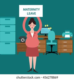 maternity leave parental pregnant woman get paid during pregnancy absent