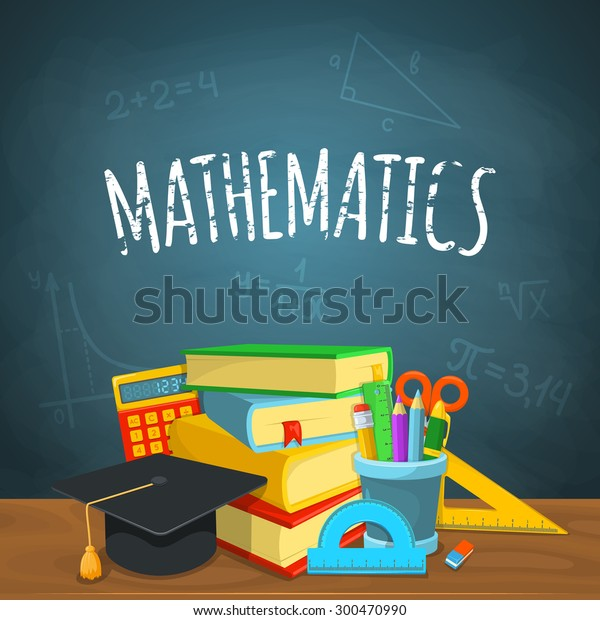 Math Backdrop Education Background Design Science Stock ...