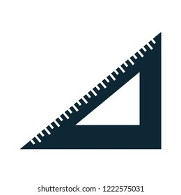 math triangle ruler icon-geometry sign-mathematics illustration-measurement illustration - education vector