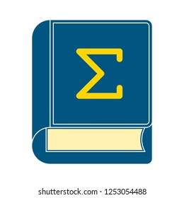 mathematics book cover icon