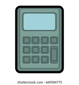 mathematics calculator cartoon