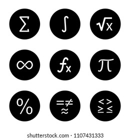 Math Symbols Images, Stock Photos & Vectors | Shutterstock