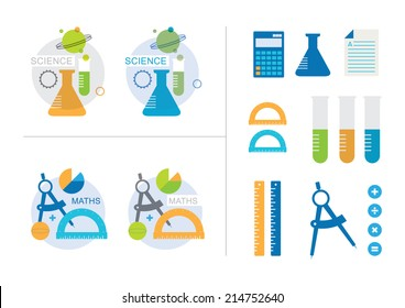 Maths and Science Icons