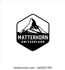 Matterhorn tallest mountain in switzerland