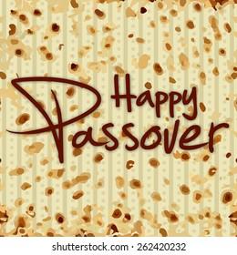 Matzo for happy passover design