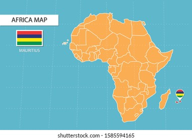 World Map Mauritius Images, Stock Photos & Vectors ...
