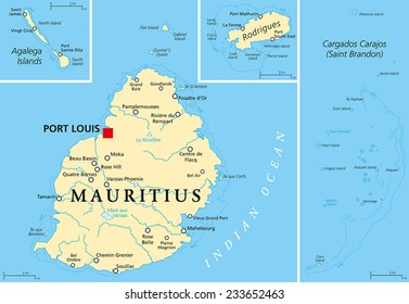 Mauritius Map Images, Stock Photos & Vectors | Shutterstock