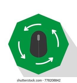 mause icon vector