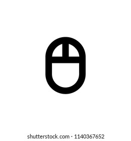 Mause icon vector symbol sign