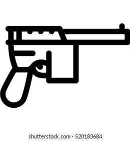 mauser pistol icon
