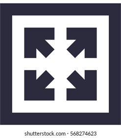 Maximize Vector Icon