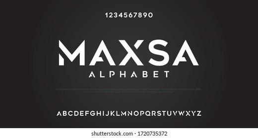 Maxsa alphabet custom text strong and funky