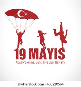 May 19th, Turkish Commemoration of Ataturk, Youth and Sports Day, 19 Mayis