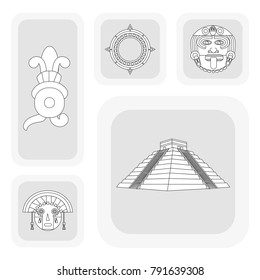 Maya icon set design